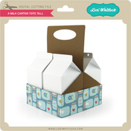 4 Milk Carton Tote Tall
