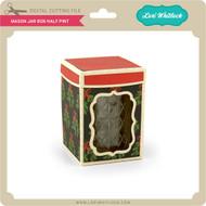 Mason Jar Box Half Pint