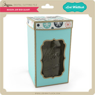 Mason Jar Box Quart