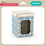 Mason Jar Box Wide Pint