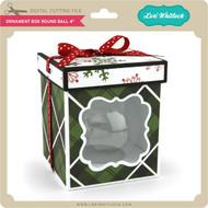Ornament Box Round Ball 4
