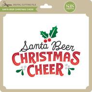 Santa Beer Christmas Cheer