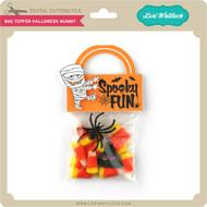 Bag Topper Halloween Mummy