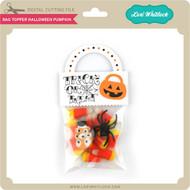 Bag Topper Halloween Pumpkin
