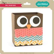 Owl Favor Box