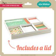 Life Card Storage Box