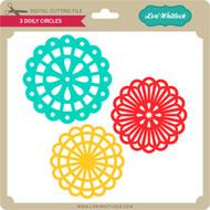 3 Doily Circles