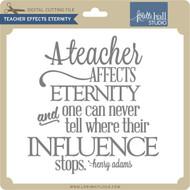 Teacher Effects Eternity