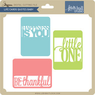 Life Cards Quotes Baby