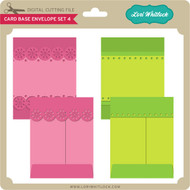 Card Base & Envelope Set 4