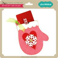 Mitten Gift Card Holder