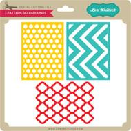 3 Pattern Backgrounds