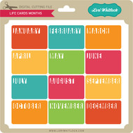Life Cards Months