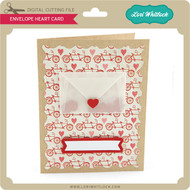 Envelope Heart Card