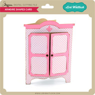 Armoire Shaped Card