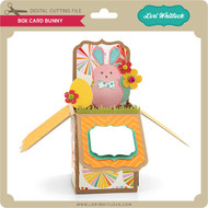 Box Card Easter Bunny