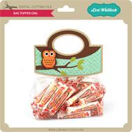 Bag Topper Owl
