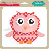 A2 Owl Card
