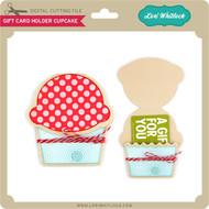 Gift Card Holder Cupcake