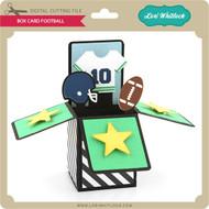 Box Card Football