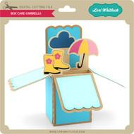 Box Card Umbrella