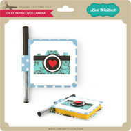 Sticky Note Cover Camera