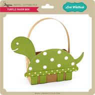 Turtle Favor Box