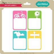 3x4 Life Cards 2