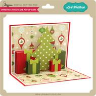 Christmas Tree Scene Pop Up Card
