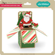 A2 Christmas Santa Box Card