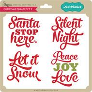 Christmas Phrases Set 2