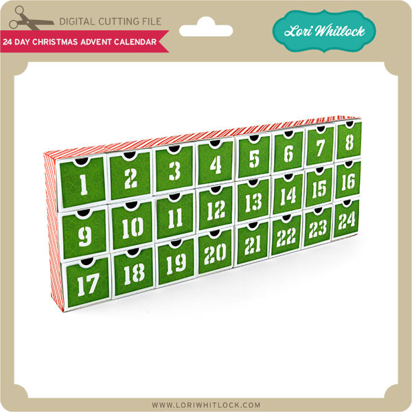 24 Day Christmas Advent Calendar