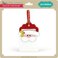 Santa Pocket Gift Card Holder