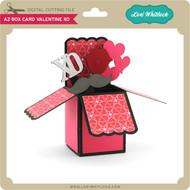 A2 Box Card Valentine XO