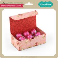 Easter Candy Egg Carton