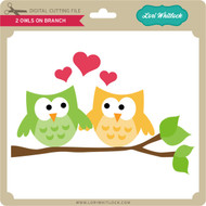 2 Owls on Branch