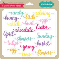 18 Easter Spring Words