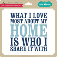 What I Love About My Home Share