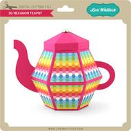 3D Hexagon Teapot