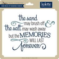 Sand Brush Off Memories Forever