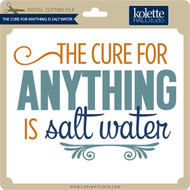 The Cure For Anything Is Salt Water