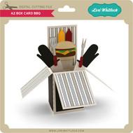 A2 Box Card BBQ