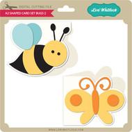 A2 Shaped Card Set Bugs 2
