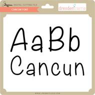 Cancun Font