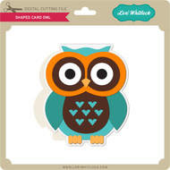Shaped Card Owl