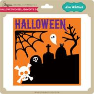 Halloween Embellishments 2