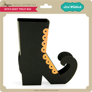 Witch Boot Treat Box