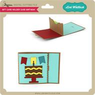 Gift Card Holder Card Birthday