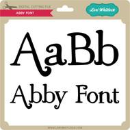 Abby Font 2