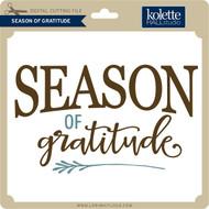 Season of Gratitude